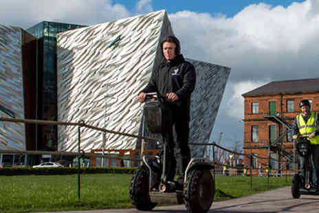 Virgin Experience Days - Belfast City Titanic Segway Tour - Save 0%