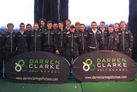 The Darren Clarke Golf School - Three Hour Golf Tuition  - Save 0%