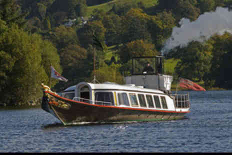 Virgin Experience Days - Picnic Cruise on The National Trust Steam Yacht Gondola for Two - Save 0%