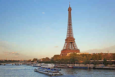 Virgin Experience Days - Luxury Paris Day Trip and Lunch at the Eiffel Tower for One - Save 0%