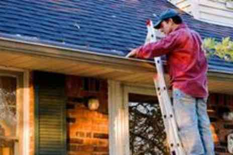 Mr Guttering - Gutter cleaning service - Save 76%