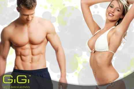 GiGi London Medical Aesthetics - One Year's Worth of IPL Laser Hair Reduction for Women for Any Area on the Body - Save 94%