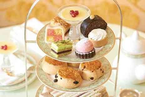 JW Marriott Hotel - A Champagne Afternoon Tea for Two  - Save 0%