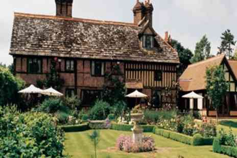 Langshott Manor - Deluxe Afternoon Tea for Two  - Save 0%