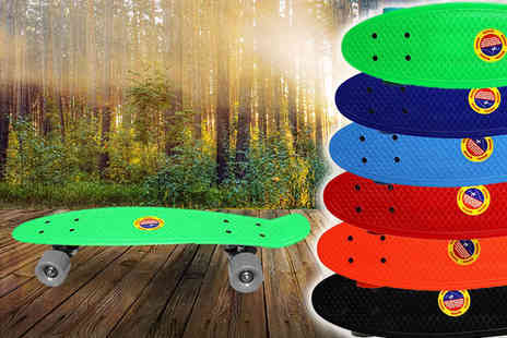 Toys Wizard - Retro penny style skateboard - Save 75%