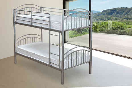 Stickbase - Twin sleeper metal bunk bed frame  - Save 61%