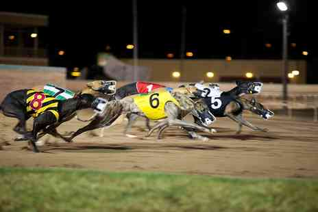 Swindon Greyhounds - Swindon Greyhound Racing With Burger and Drink - Save 57%