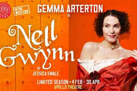 Ingresso - Nell Gwynn Starring Gemma Arterton Ticket at The Apollo Theatre on 4 to 27 February - Save 0%