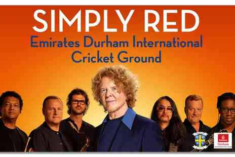 Liz Hobbs Group - Simply Red Big Love Tour Live on 3 June - Save 0%