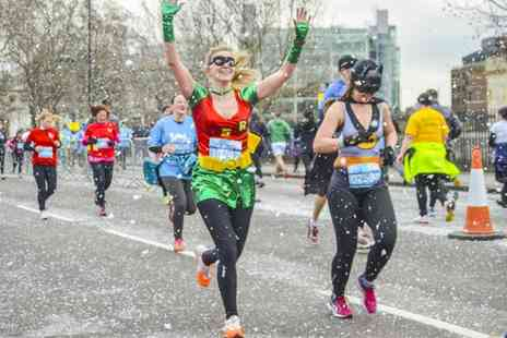 Cancer Research - 5K or 10K Cancer Research UK Manchester Winter Run Entry for One on 28 Februar  - Save 20%