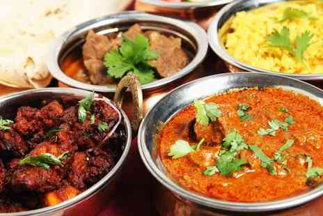 Eastern spice Corby - Two Course Indian Meal with Rice or Naan for Two or Four - Save 38%