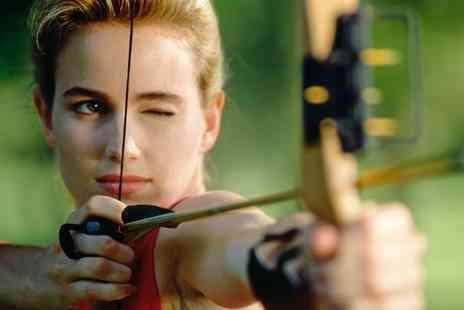 Battle Archery - Aerial Archery Experience for One or Two Children or Adults - Save 53%