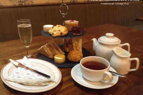 The Brickmakers Arms - Afternoon Tea for Two with Prosecco - Save 50%