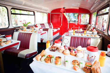The View From The Shard -  Vintage Afternoon Tea Bus Tour for Two - Save 0%