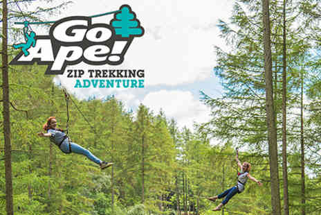 Go Ape - Zip Trekking Adventure for Two  - Save 0%
