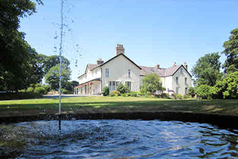 Plas Dinas Country House - One Night Welsh Escape for Two  - Save 0%