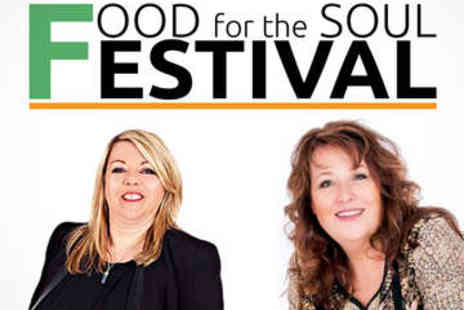 Food for the Soul Festival - Mediumship Demonstration with Psychic plus Snacks - Save 48%