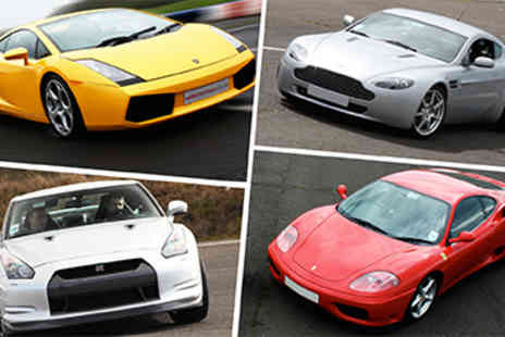 Supercar Blast - Four Supercar Blast  - Save 50%