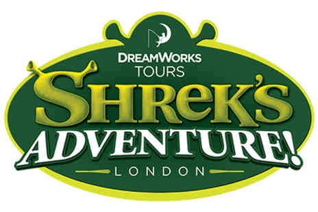 Shreks Adventure - Shreks Adventure London Tickets and Two Course Meal for Two - Save 0%