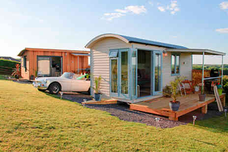 The Gower Hotel - Weekend stay for a family of up to five in a Grand Shepherds Hut  - Save 0%