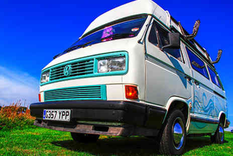 Virgin Experience Days - Four Night Romantic Rover Tiki Van Summer Break on The Gower Coast - Save 0%