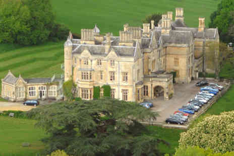 Dumbleton Hall Hotel - One Night Break for Two  - Save 0%