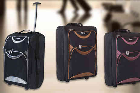 Z and U Online - Cabin Approved Travel Bag Three Colours - Save 80%