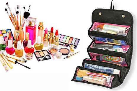 lolbargain - Roll Out Portable Cosmetic Organiser - Save 38%