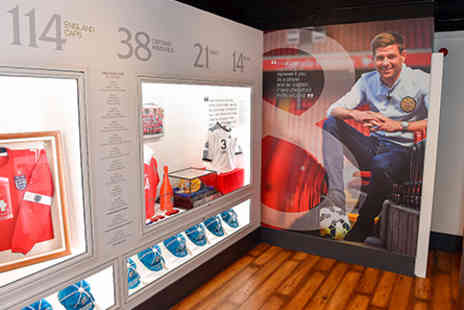 Liverpool FC - Liverpool FC Centenary Stand Tour & The Steven Gerrard Collection for One Adult - Save 0%