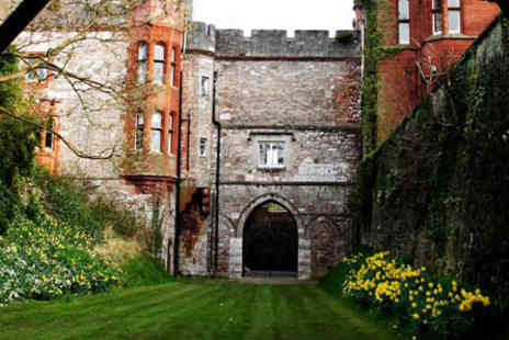 Ruthin Castle - Afternoon Tea for Two  - Save 0%