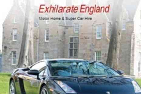 Exhilarate England - One Laps Driving Three Supercars Such as Lamborghini Gallardo - Save 66%