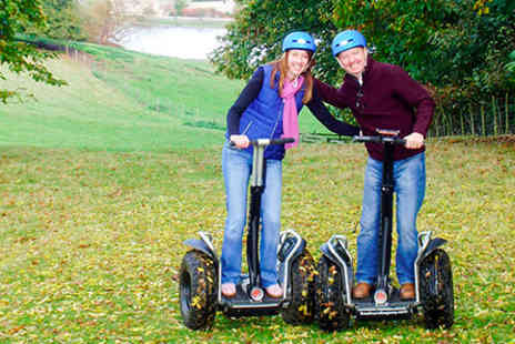 Dorset Segways - Dorset Segway Adventure Tour and Cream Tea for Two - Save 0%