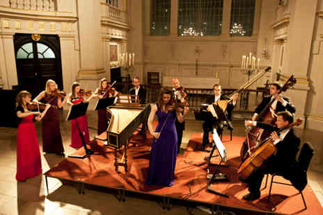 London Concertante -  Vivaldi Violin Concertos Ticket by candlelight plus a CD single and programme -  - Save 68%