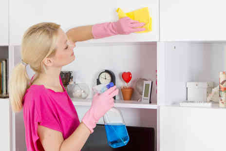 Thomas Cleaning - Three hour domestic cleaning service from Thomas Cleaning  - Save 47%