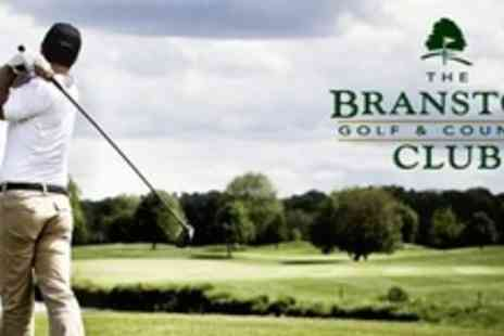 The Branston Golf and Country Club - Nine Holes of Golf For Two Plus 30 Driving Range Balls Each - Save 64%