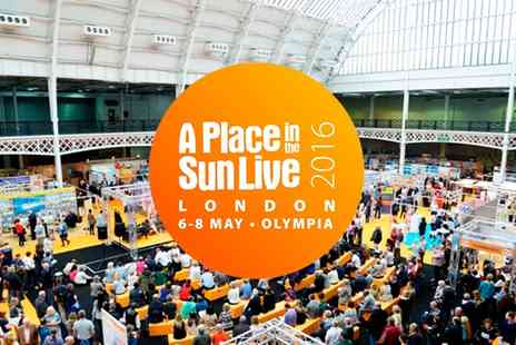 A Place in the Sun Live -  A Place in the Sun Live Tickets On 6 to 8 May - Save 20%