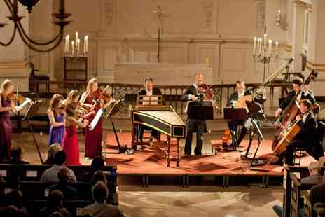 CMG Promotions - London Concertante, Vivaldi and Bach Concertos in St.Martin in the Fields by Candleligh On 26 February- Save 46%