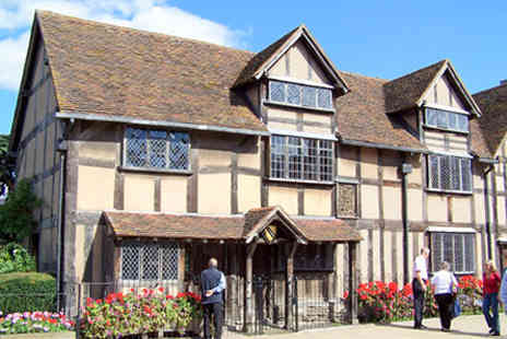 Cafe Rouge  - Visit Shakespeares Birthplace and Three Course Meal  for Two - Save 0%