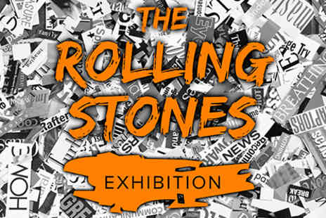 Sticky Fingers - The Rolling Stones Exhibition with Meal Restaurant for Two - Save 0%