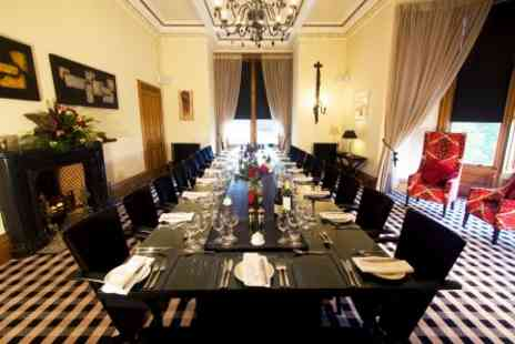 Kinnettles Castle - Seven Course Banquet Dining Experience for Two - Save 0%