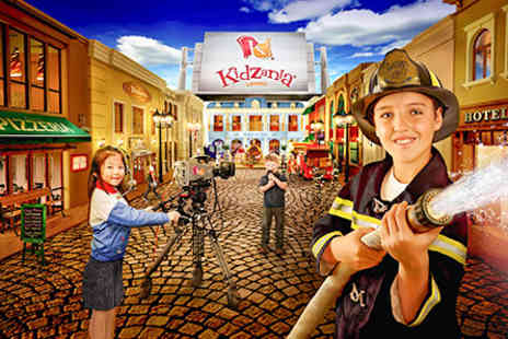 Kidzania  - Visit to KidZania and Meal For Two Adults and Two Children - Save 0%