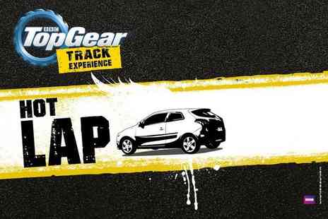 Top Gear Track Experience  -  BBC Top Gear Hot Lap experience   - Save 0%