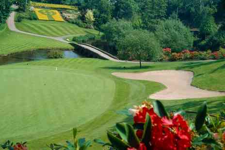 Druids Glen Golf Course - 18 Holes of Golf with Golf Balls and Pull Trolley for Two or Four  - Save 40%