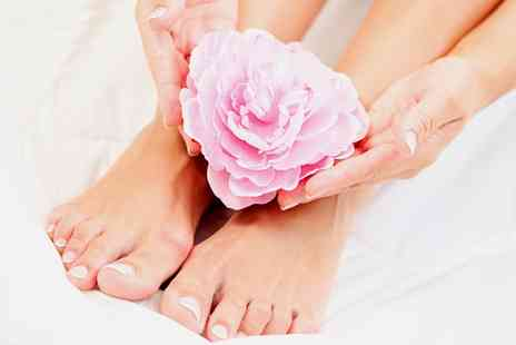 Above Twenty Eight - Manicure, Pedicure, or Both   - Save 40%