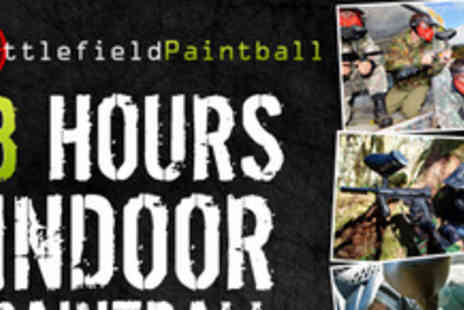 Battlefield Paintball - Wage war this Easter hoildays with a three hour session - Save 85%