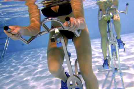 Wet Bikes - Three or Five Sessions of Aqua Cycling  - Save 70%