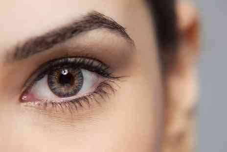 The Beauty Brow Bar - Eyebrow Tint and Shape with Optional Individual Lashes  - Save 57%