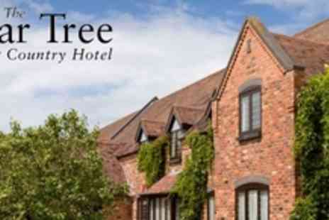 The Pear Tree Inn - 1 Night Stay for 2 in Worcestershire including breakfast plus bottle of wine when dining - Save 66%