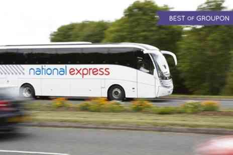 National Express   -  One Way or Return Fares To and From London  - Save 0%