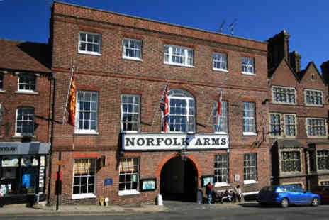 The Norfolk Arms Hotel - Two Night Escape for Two  - Save 0%